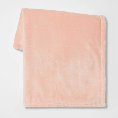 Solid Plush Throw Blanket - Room Essentials™