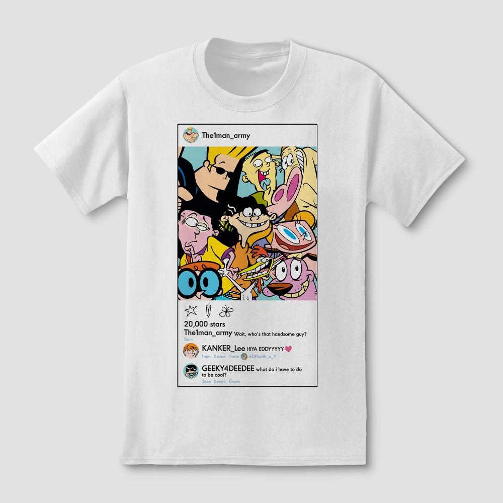 Men's Cartoon Network Short sleeve T-Shirt - White M