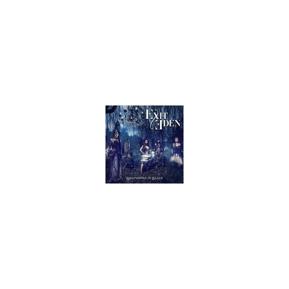 Exit Eden - Rhapsodies In Black (CD)