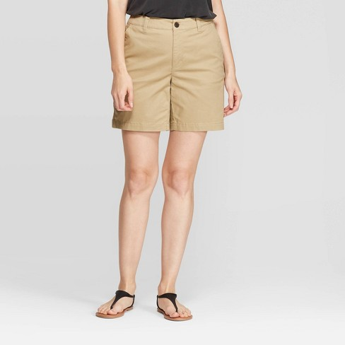 """Women's 7"""" Chino Shorts - A New Day™ - image 1 of 3"""