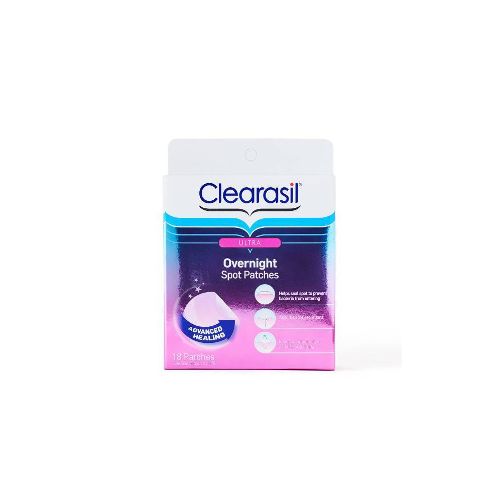 Image of Clearasil Rapid Rescue Healing Spot Patches 18ct