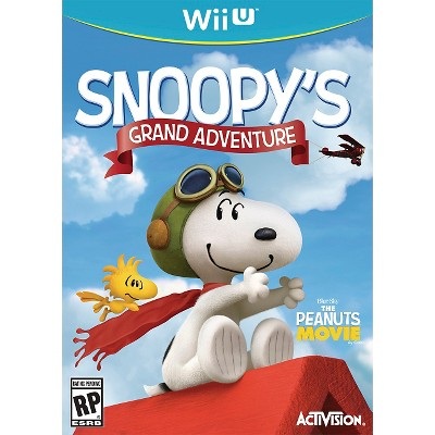 Snoopys Grand Adventure Nintendo Wii U