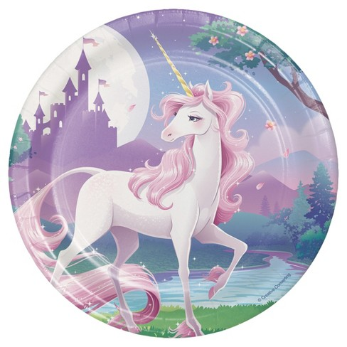 "Unicorn Fantasy 7"" Dessert Plates - 8ct - image 1 of 2"