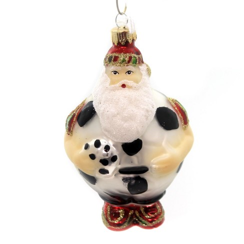 Holiday Ornaments Sports Santa Hoop Free Throw Court  - - image 1 of 2