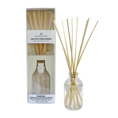 3.83oz Oil Diffuser Salted Driftwood - Chesapeake Bay Candle