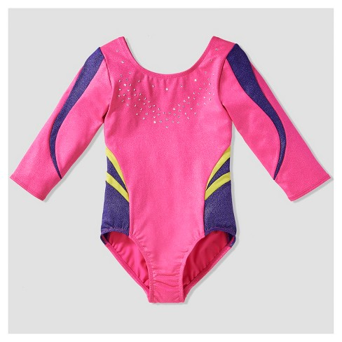 Girls' Freestyle by Danskin Leotard - Pink - image 1 of 2