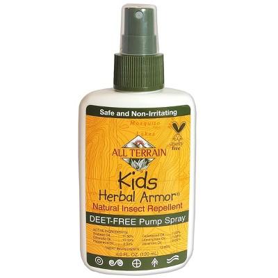 4oz Kids DEET Free Pump Spray - Herbal Armor