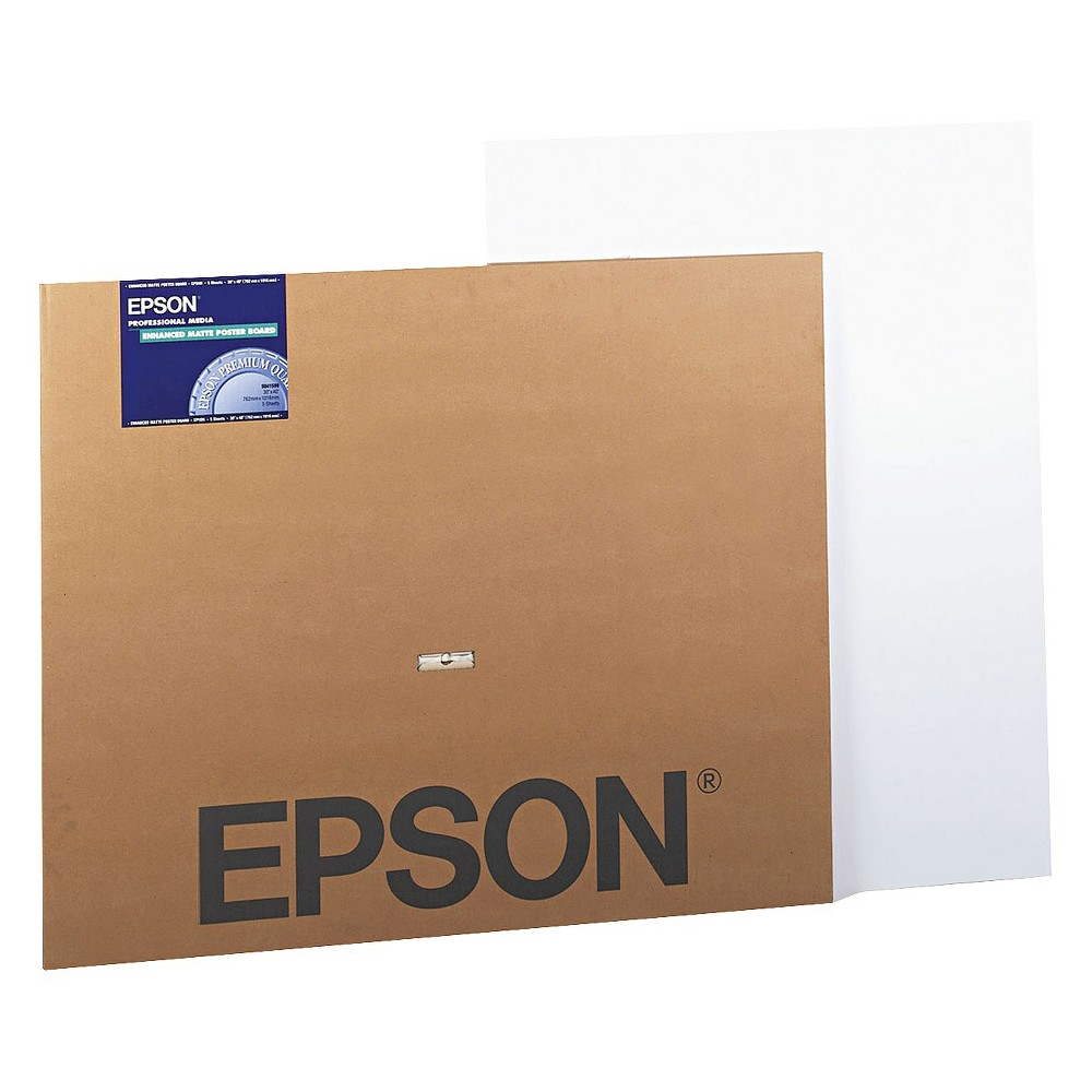 Image of Epson Matte Wide Format Inkjet Poster Board, White