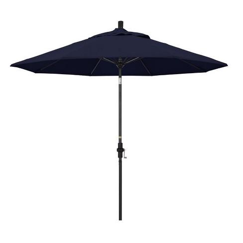 9' Patio Umbrella in Navy Blue - California Umbrella - image 1 of 2