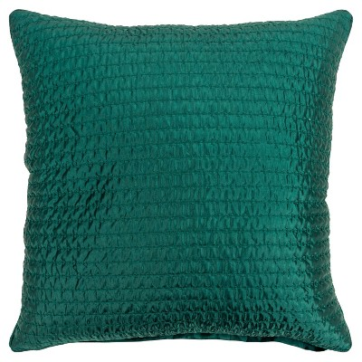 """22""""x22"""" Solid Polyester Filled Pillow - Rizzy Home"""