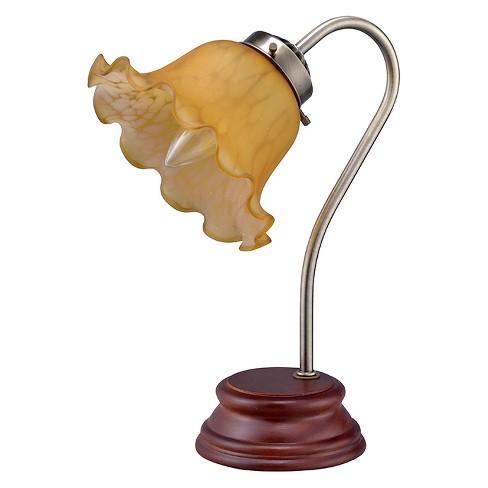 Gooseneck Table Lamp Brown (Includes Energy Efficient Light Bulb) - Ore International - image 1 of 2