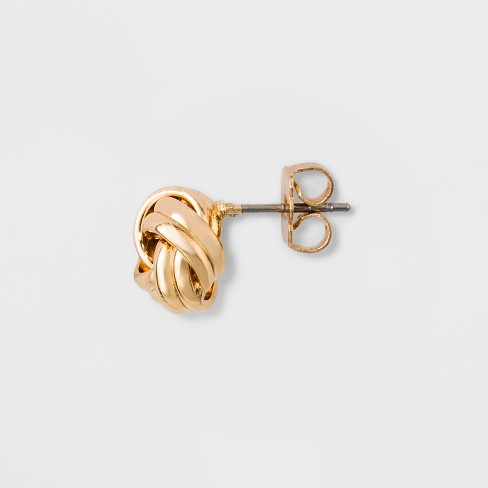 bd98c1c3f Love Knot Stud Earrings - A New Day™ Gold : Target