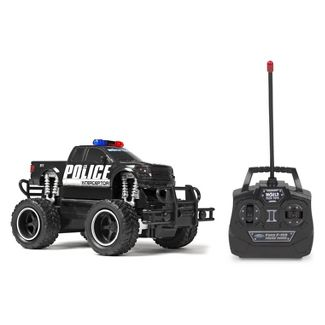 Ford F-150 Police Electric Remote Control RC Monster Truck - 1:24 Scale