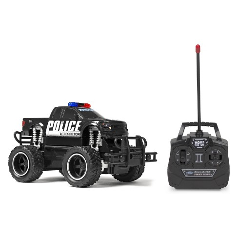 Ford F-150 Police Electric Remote Control RC Monster Truck - 1:24 Scale - image 1 of 7