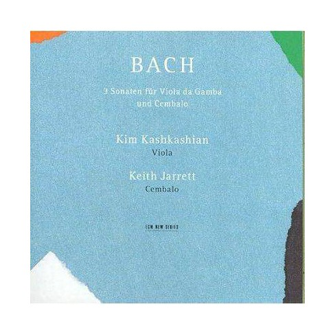 Bach - Bach: Sonatas for Viola da Gamba and Cembalo (CD) - image 1 of 1