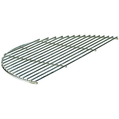 Kamado Joe Innovative 18-Inch Half-Moon Classic Stainless Steel Versatile Outside Grill Cooking Grate Surface