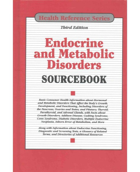 Endocrine and Metabolic Disorders Sourcebook (Hardcover) - image 1 of 1