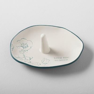 Love You Ring Tray - Cream - Hearth & Hand™ with Magnolia