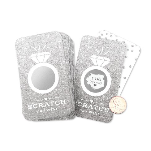 24ct Glitter Scratch Off Game Cards - image 1 of 4