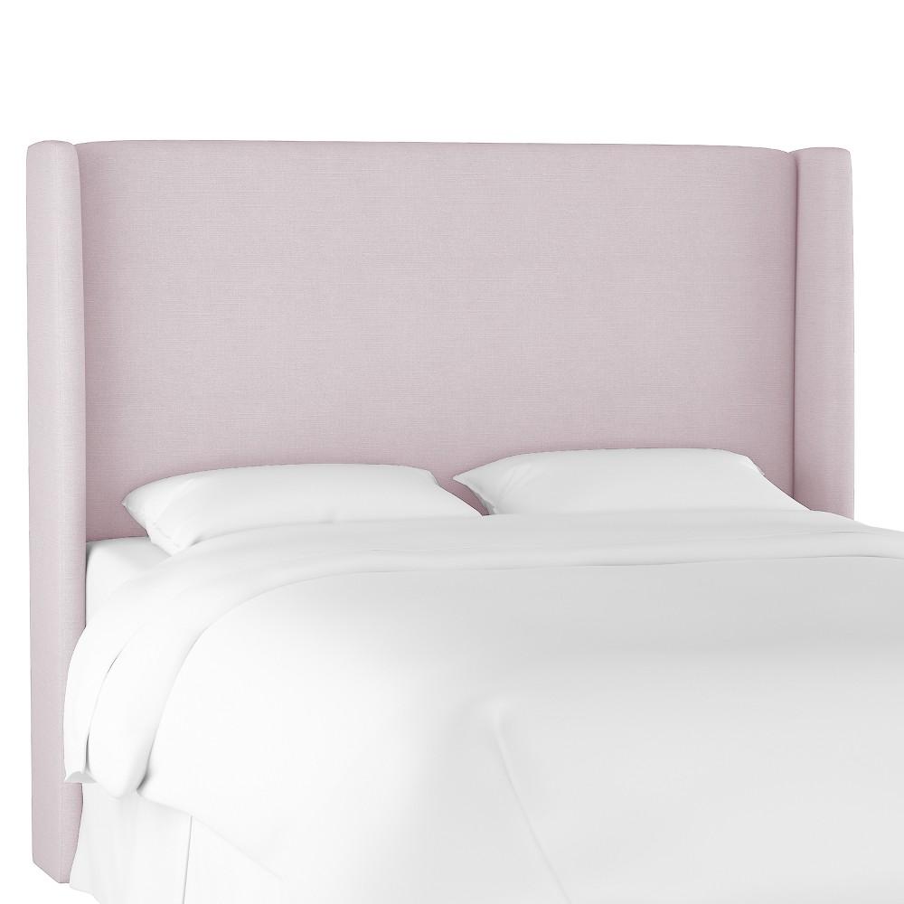 King Antwerp Wingback Headboard Lavender Linen - Project 62 Cheap