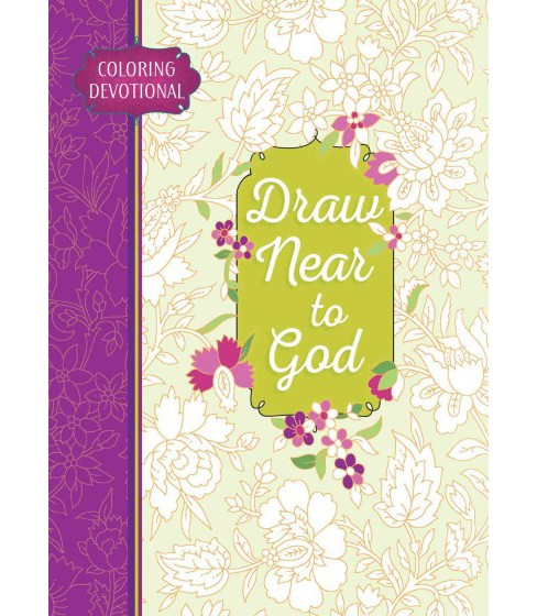 Draw Near to God Coloring Devotional (Paperback) - image 1 of 1