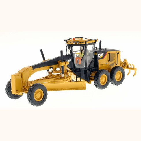 "CAT Caterpillar 140M Motor Grader with Operator ""High Line Series"" 1/50 Diecast Model by Diecast Masters - image 1 of 4"
