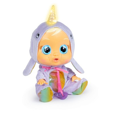 Cry Babies Narvie Baby Doll  - Narwhal