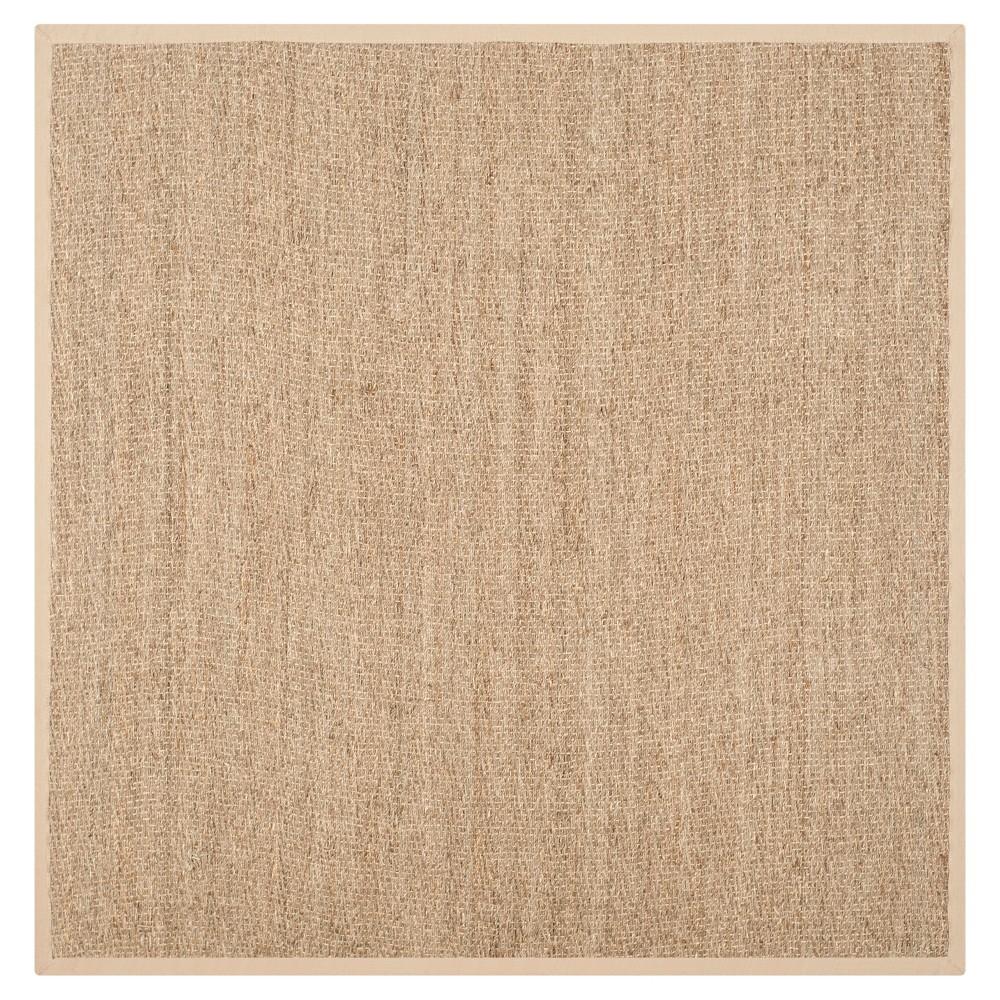 Natural Fiber Rug - Natural/Beige - (8'x8' Square) - Safavieh