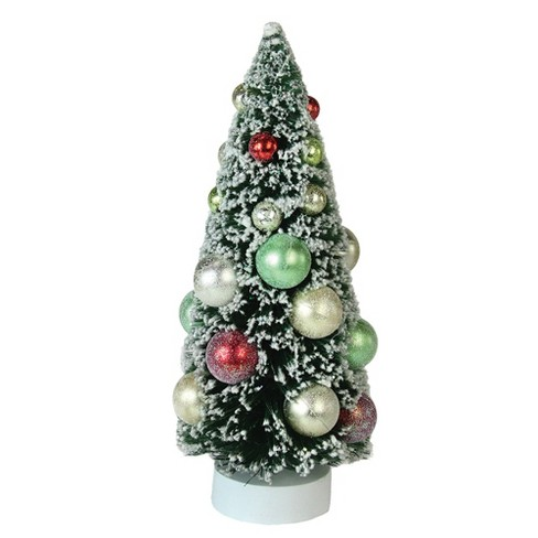 Fabulous Northlight 9 Frosted Green Sisal Pine Artificial Christmas Table Top Tree Home Interior And Landscaping Ologienasavecom