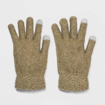 Women's Stretch Knit Glove - Universal Thread™ Green One Size