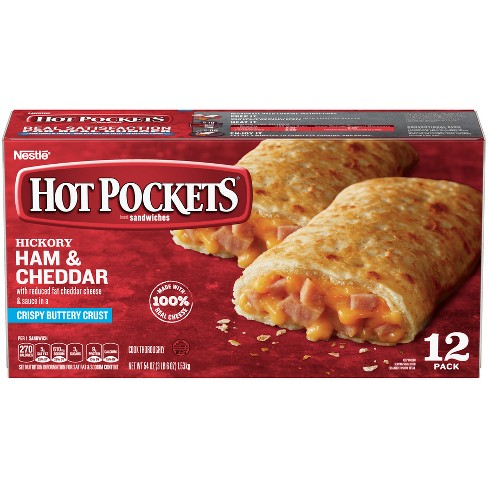 Hot Pockets Frozen Ham & Cheese - 12ct/54oz - image 1 of 6