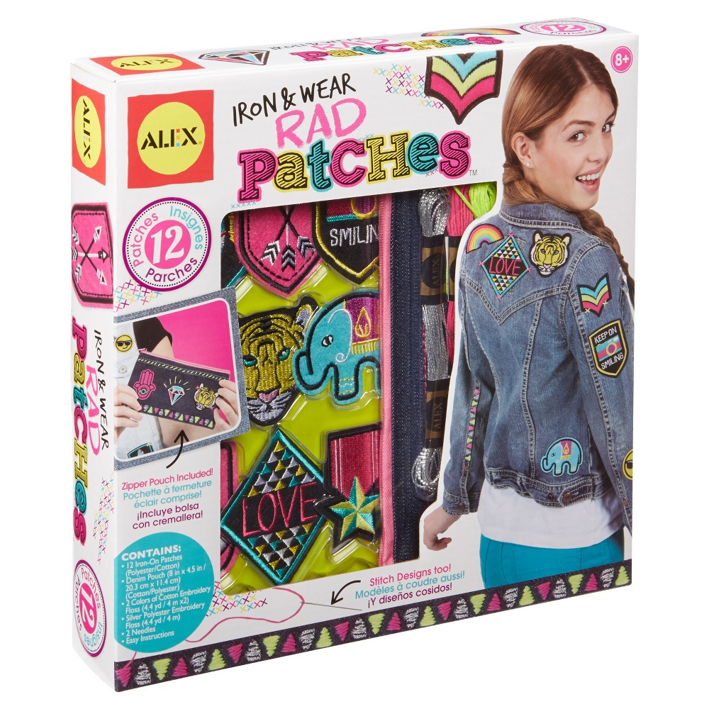 Alex Toys Diy Wear Iron and Wear Rad Patches