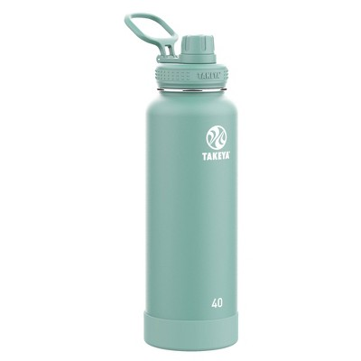 Takeya 40oz Actives Insulated Stainless Steel Water Bottle with Spout Lid
