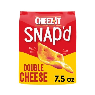Cheez-It Snap'd Double Cheese Crackers - 7.5oz