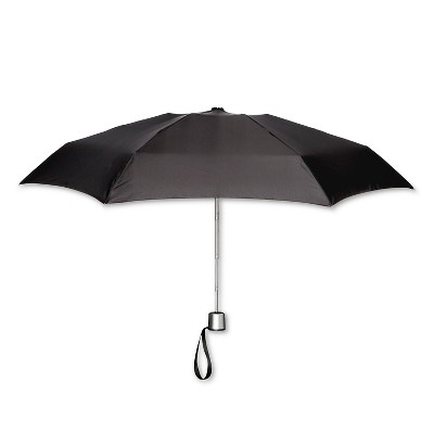 ShedRain Manual Compact Umbrella  - Black