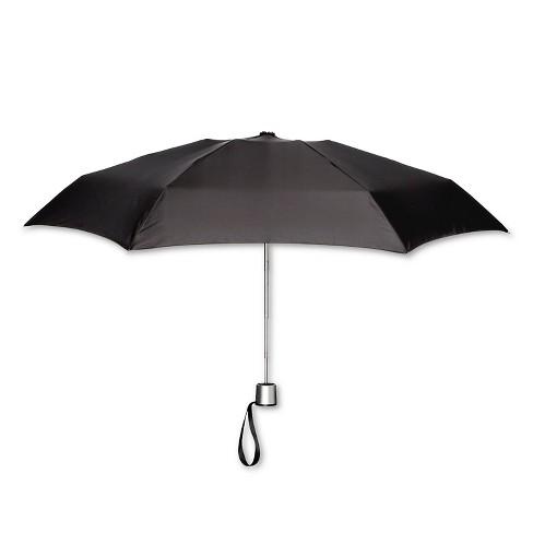 ShedRain Manual Compact Umbrella  - Black - image 1 of 2