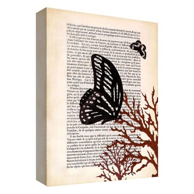 "11"" x 14"" A Butterfly Story I Decorative Wall Art - PTM Images"