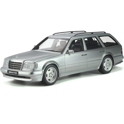 Mercedes Benz S124 E36 AMG Brilliant Silver Metallic Limited Edition to 2,500 pieces Worldwide 1/18 Model Car by Otto Mobile