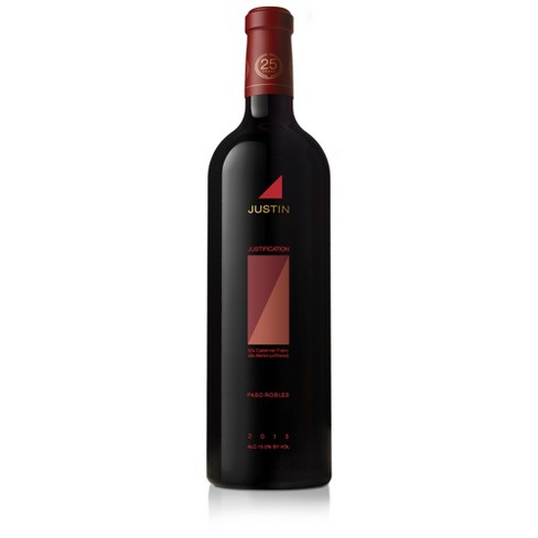 Justin Justification Cabernet Sauvignon Red Wine - 750ml Bottle - image 1 of 4