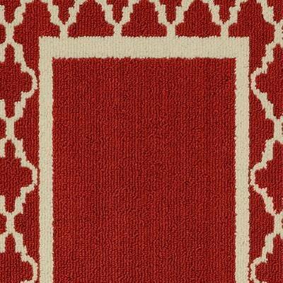 Crimson/Ivory