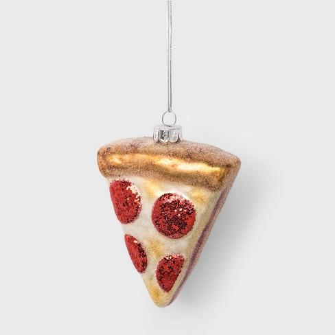 Pizza Glass Christmas Ornament - Wondershop™ - image 1 of 2
