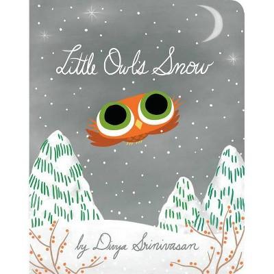 Little Owl's Snow - by Divya Srinivasan (Board_book)
