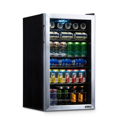 NewAir 126-Can Beverage Cooler - AB-1200 - Stainless Steel