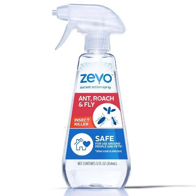 Zevo Ant Roach and Fly Insect Trigger Spray - 12 fl oz