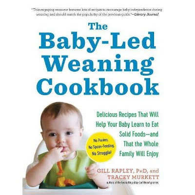 The Baby-Led Weaning Cookbook - by Gill Rapley & Tracey Murkett (Paperback)