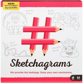 Sketchagrams Game for 3-6 Players Ages 14Y+