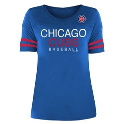 MLB Chicago Cubs Women's Poly Rayon T-Shirt