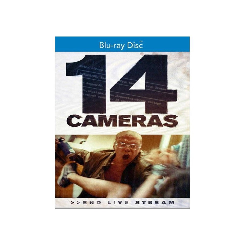 14 Cameras (Blu-ray), Movies An unassuming family with two daughters rents a new home for the summer, having no idea their obsessive landlord, Gerald, is broadcasting their every move online. Viewers become increasingly fixated on the two college girls. When a follower on the dark web offers to buy one of the girls, Gerald must protect what is his.
