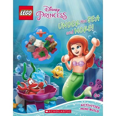 Under the Sea and More! (Lego Disney Princess: Activity Book with Minibuild), 2 - by  Ameet Studio (Mixed Media Product)