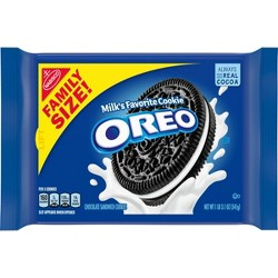 Oreo Chocolate Sandwich Cookies - Family Size - 19.1oz